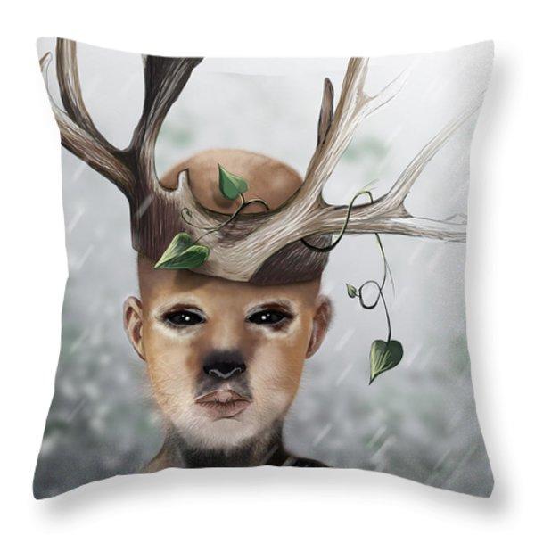 Birch Throw Pillow by Jason Longstreet