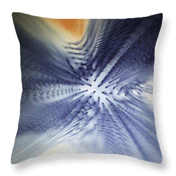 Bird Of Paradise Throw Pillow by Nasser Studios