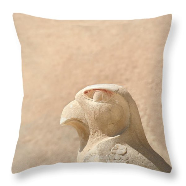 Bird Of Prey.. Throw Pillow by A Rey