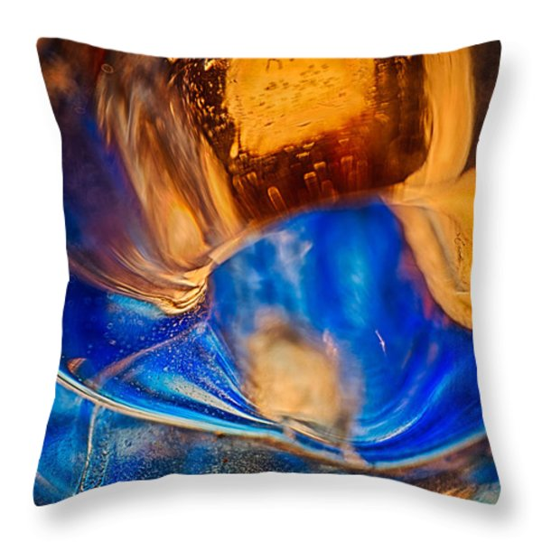Birds Of A Feather Throw Pillow by Omaste Witkowski