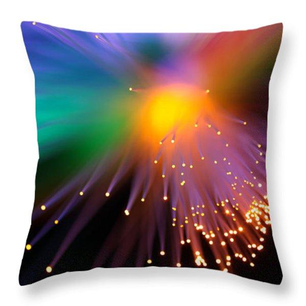 Black Hole Sun Throw Pillow by Dazzle Zazz
