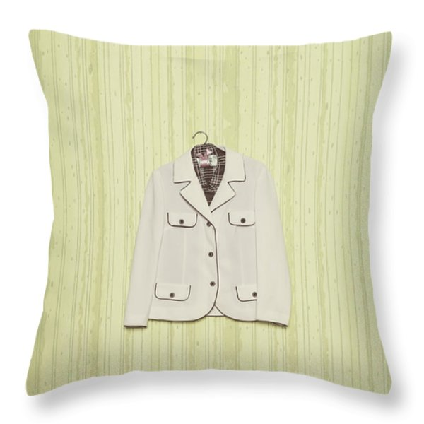 Blazer Throw Pillow by Joana Kruse