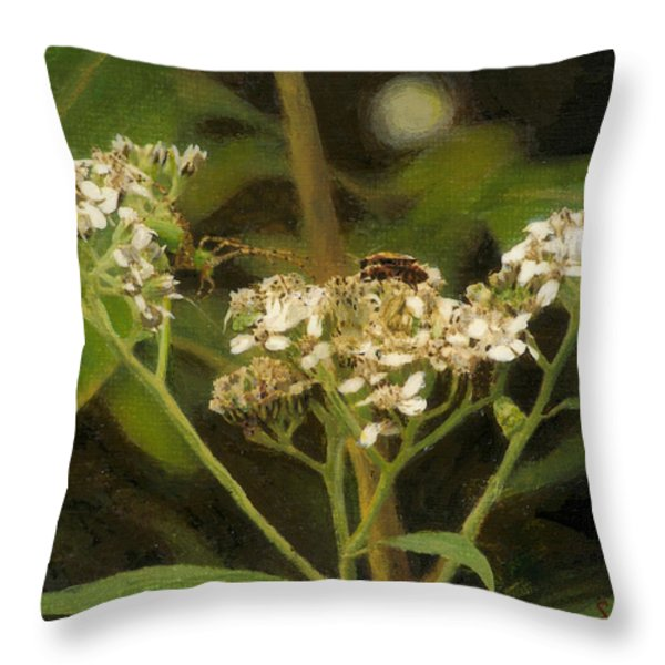 Blind Love Throw Pillow by Sherryl Lapping