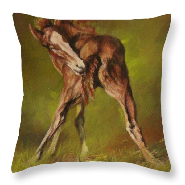 Bliss Throw Pillow by Mia DeLode