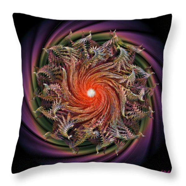 Bliss Throw Pillow by Michael Durst