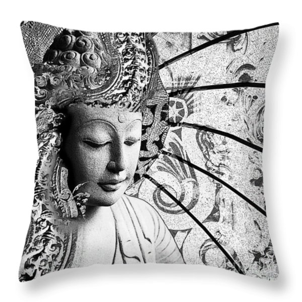 Bliss of Being Throw Pillow by Christopher Beikmann
