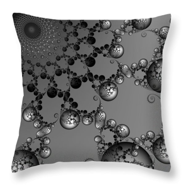 Blissfulness Throw Pillow by Christy Leigh