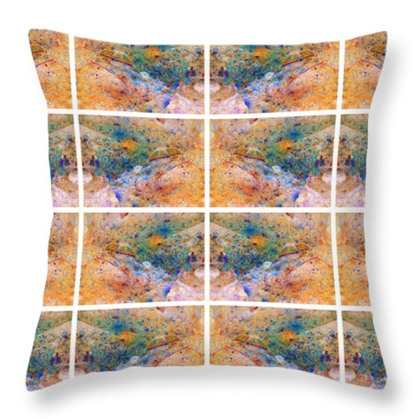 Blue Crab II Throw Pillow by Betsy A  Cutler