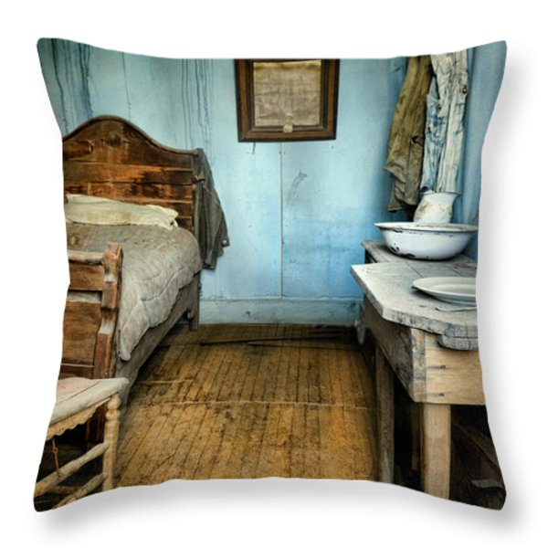 Blue Room Throw Pillow by Jill Battaglia