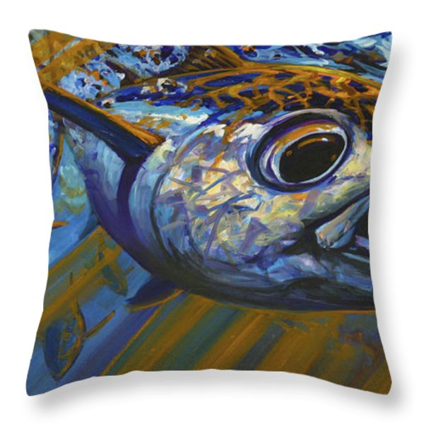 Bluewater Hellraisers Throw Pillow by Mike Savlen