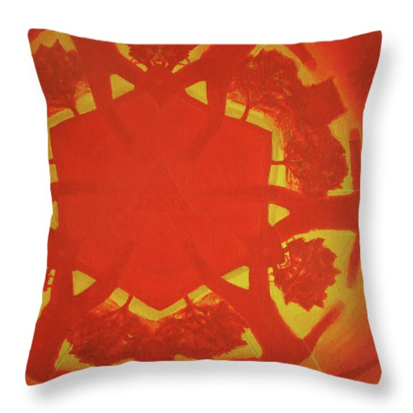 Boards Of Canada Geogaddi Album Cover Throw Pillow by David Rives
