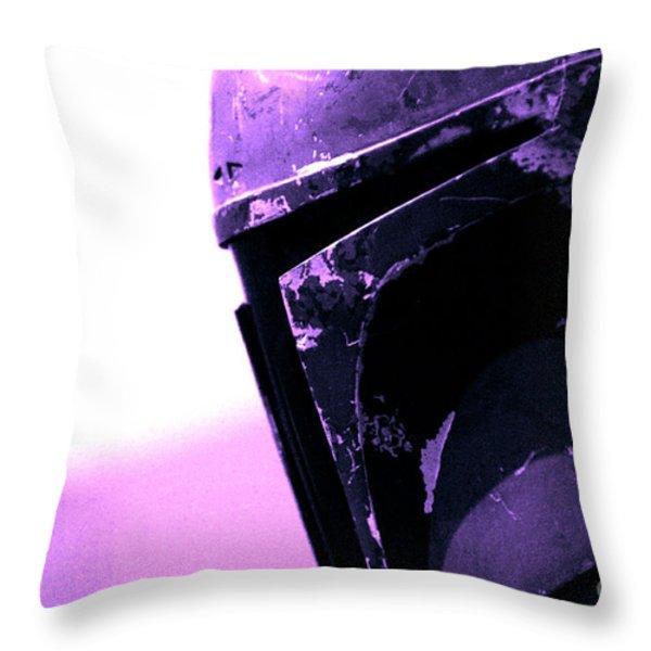 Boba Fett 23 Throw Pillow by Micah May