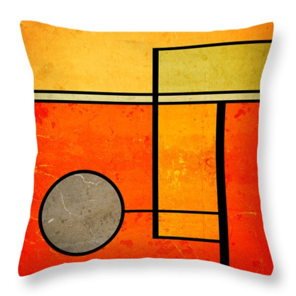 Bold Assumptions Throw Pillow by Richard Rizzo