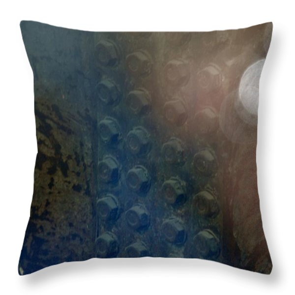 Bolts On The Trident Throw Pillow by Rob Hans