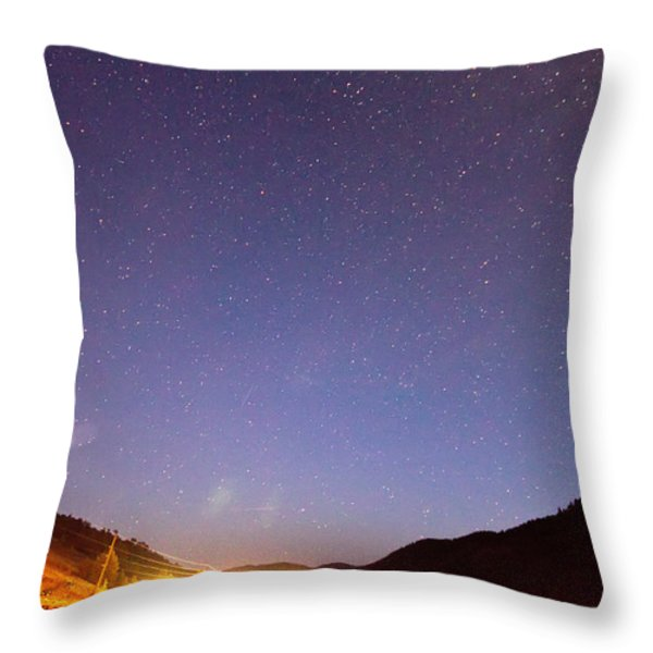 Bonanza Sky Throw Pillow by James BO  Insogna
