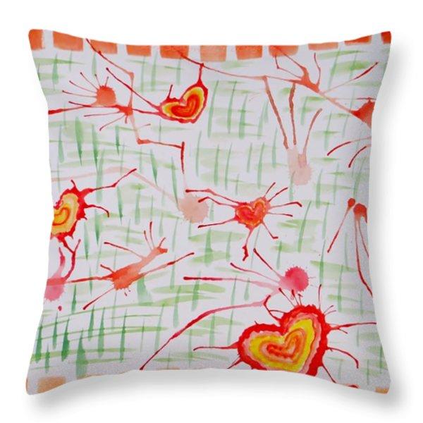 Bonds Of Love Throw Pillow by Sonali Gangane