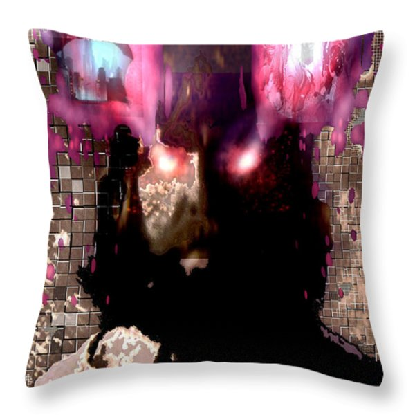 Book Of Joel Throw Pillow by Seth Weaver