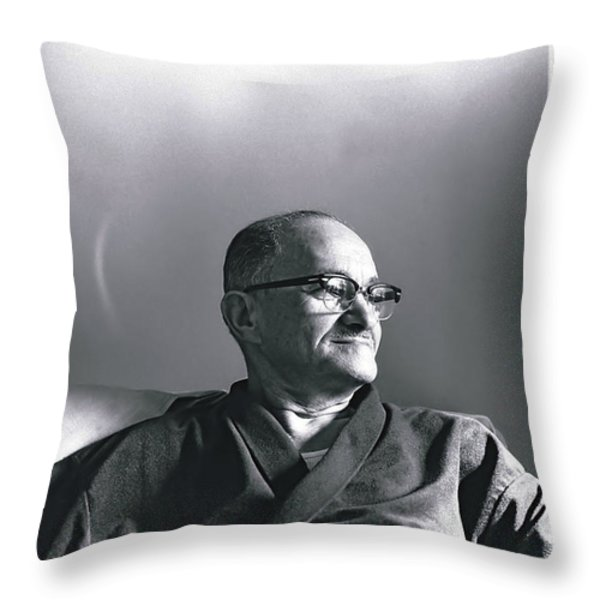 Bop's Halo Throw Pillow by Rory Sagner