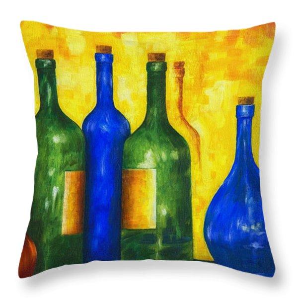 Bottless Throw Pillow by Veikko Suikkanen
