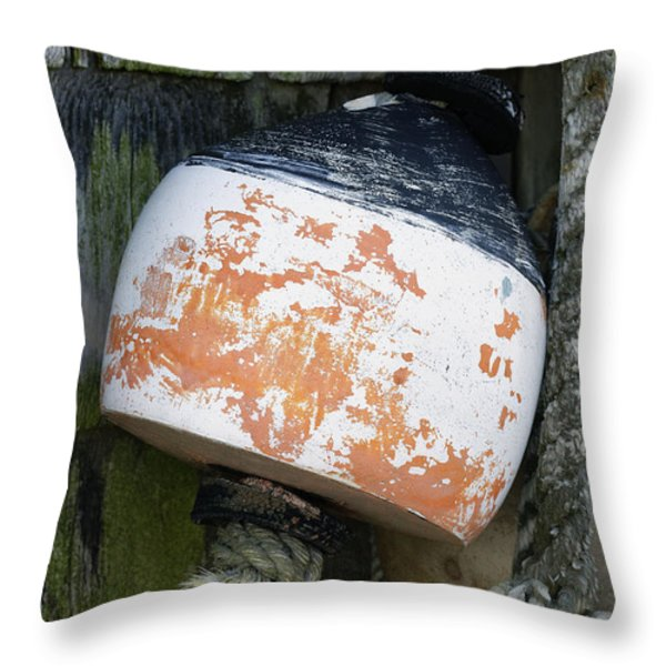 Bouy Throw Pillow by John Greim