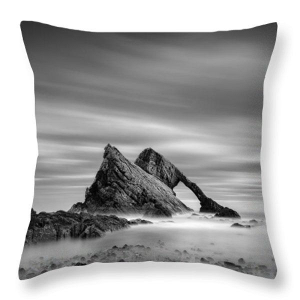 Bow Fiddle Rock 2 Throw Pillow by Dave Bowman
