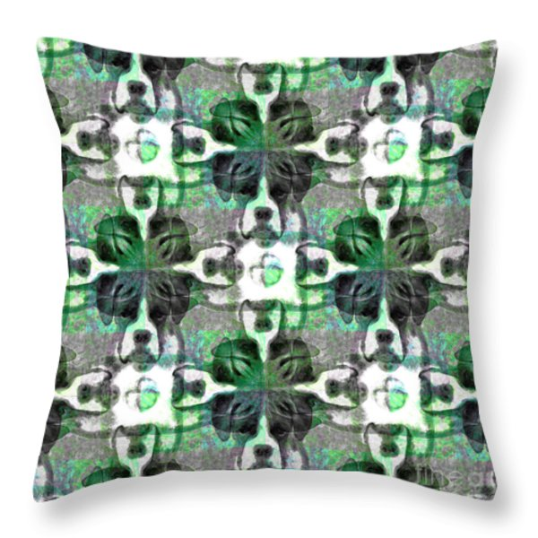 Boxer Abstract 20130126v2 Throw Pillow by Wingsdomain Art and Photography