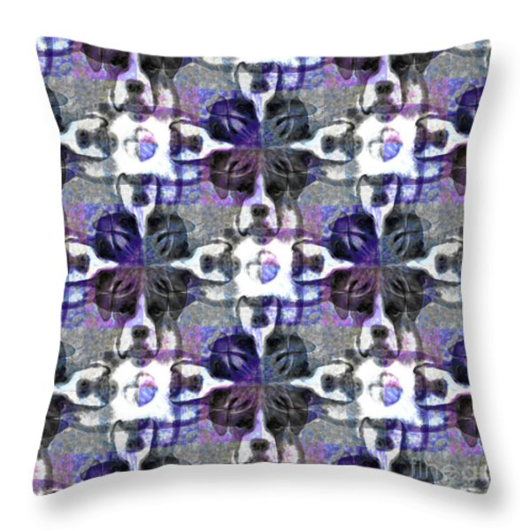 Boxer Abstract 20130126v3 Throw Pillow by Wingsdomain Art and Photography