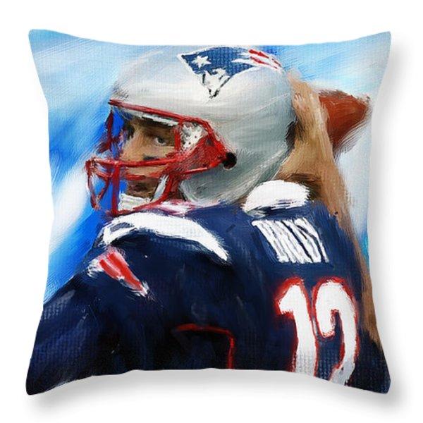Brady Throw Pillow by Lourry Legarde