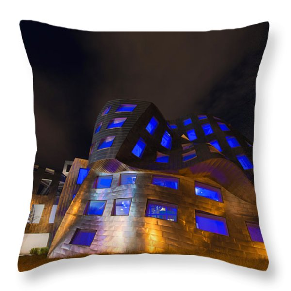 Brain Center Throw Pillow by Chad Dutson