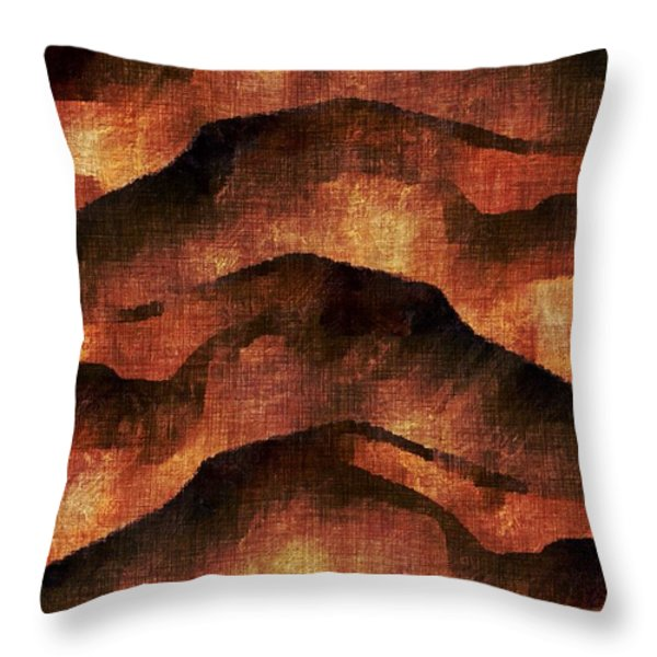Breaking Upwards Throw Pillow by James Barnes