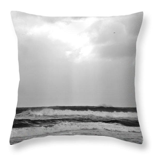 Breakthrough Throw Pillow by Michelle Wiarda