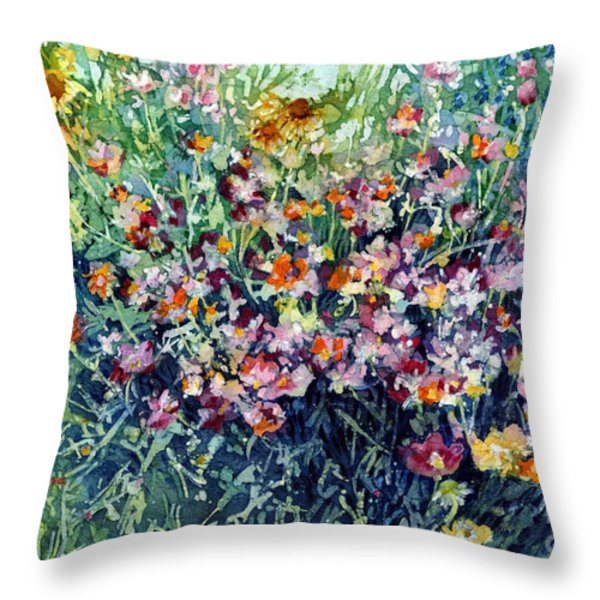 Breeze And Daydream Throw Pillow by Hailey E Herrera