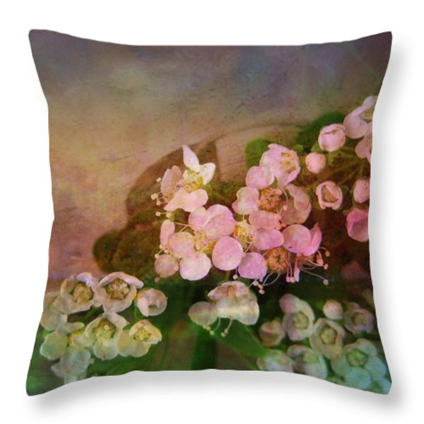 Bridal Memories Throw Pillow by Shirley Sirois