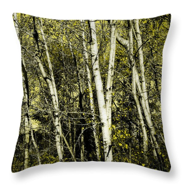 Briers and Brambles Throw Pillow by Luke Moore