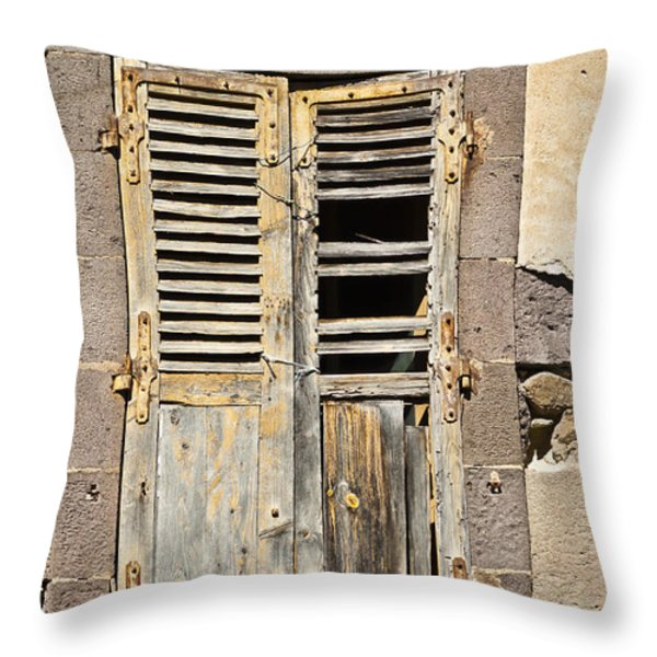 Broken Dreams Throw Pillow by Nomad Art And  Design