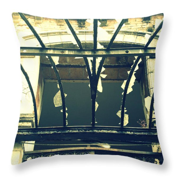 Broken Throw Pillow by Nomad Art And  Design