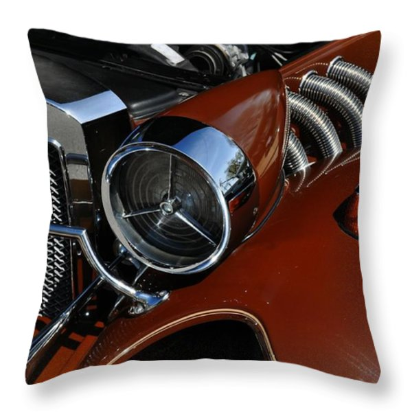 Bronze Beauty Throw Pillow by Marty Koch