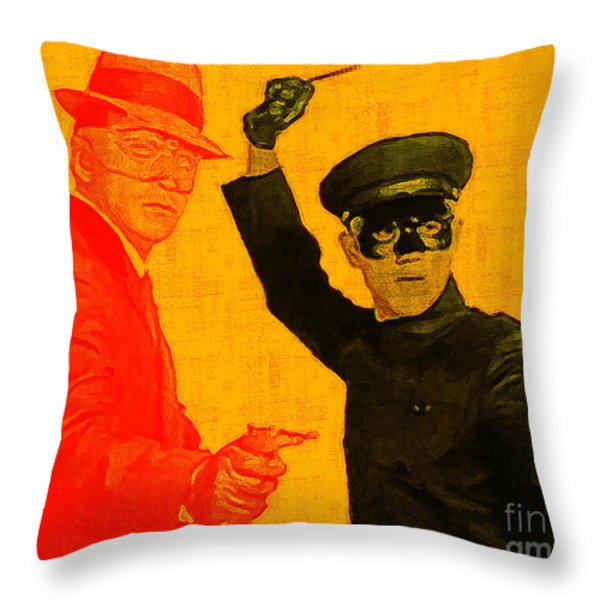 Bruce Lee Kato And The Green Hornet 20130216 Throw Pillow by Wingsdomain Art and Photography