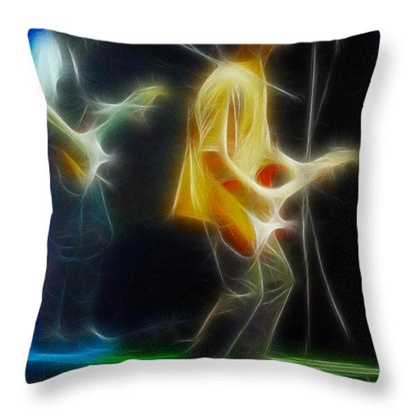 Bryan Adams-neighbors-ge18-fractal Throw Pillow by Gary Gingrich Galleries