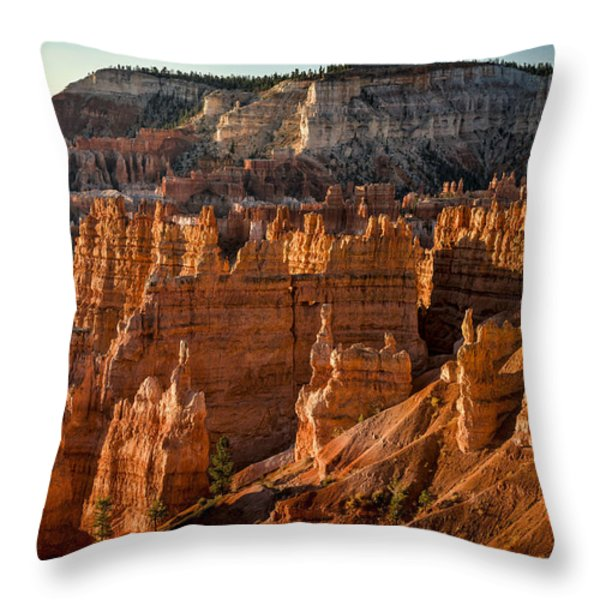 Bryce Canyon II Throw Pillow by Jeff Burton
