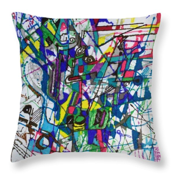 bSeter Elyion 32 Throw Pillow by David Baruch Wolk