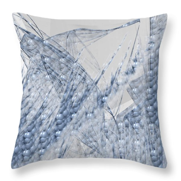 Bubble Wrap Throw Pillow by Camille Lopez