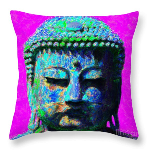 Buddha 20130130p76 Throw Pillow by Wingsdomain Art and Photography