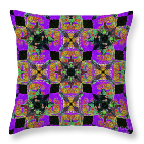Buddha Abstract 20130130m28 Throw Pillow by Wingsdomain Art and Photography