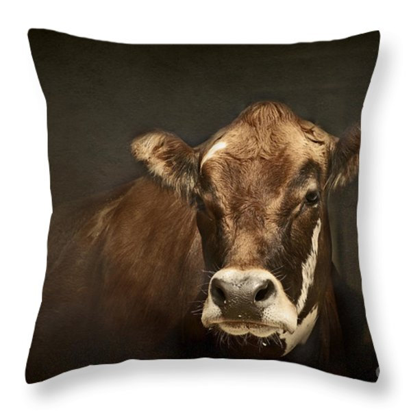 Buddy Throw Pillow by Aimelle