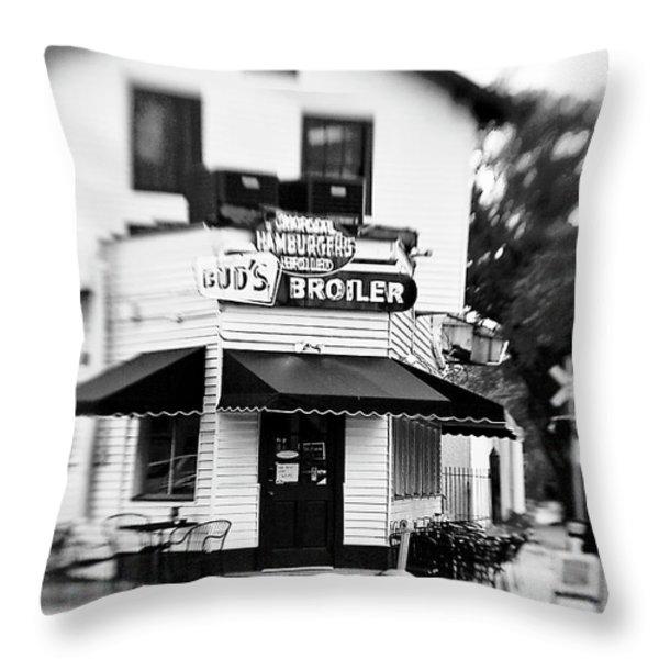 Buds Throw Pillow by Scott Pellegrin