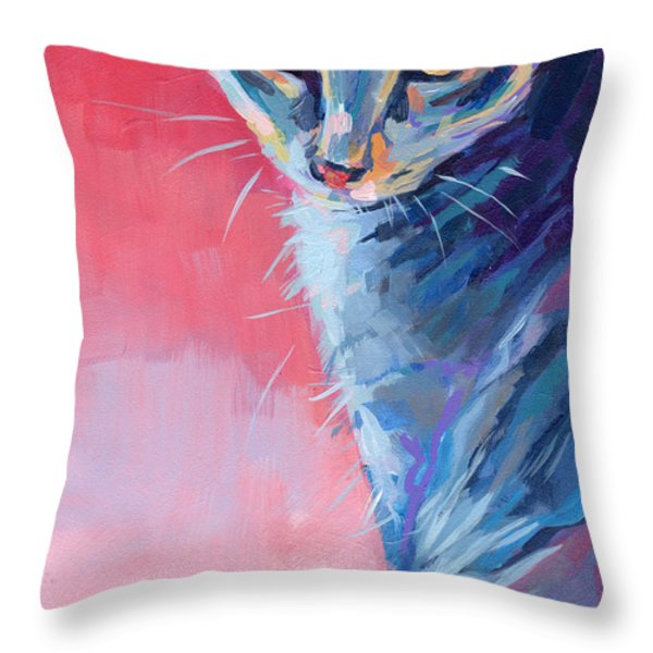 Bug Throw Pillow by Kimberly Santini