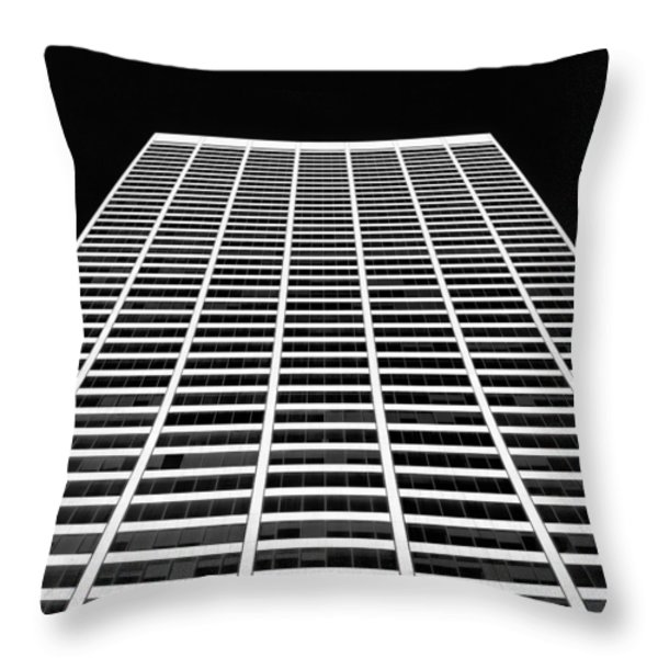Building Blocks Throw Pillow by Dave Bowman