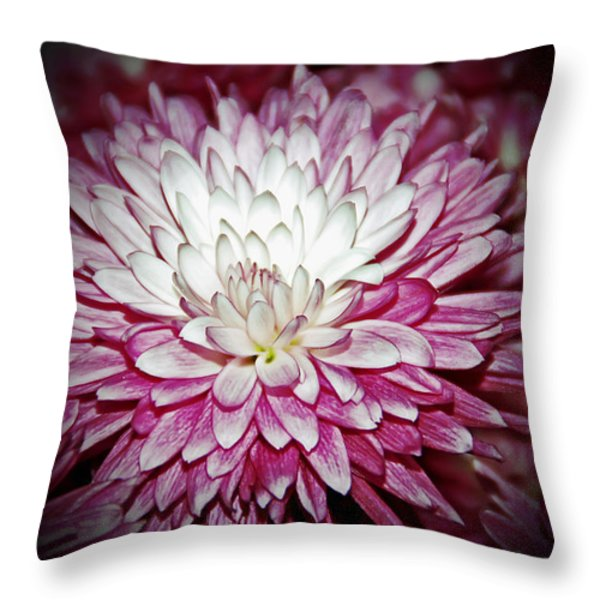 Burning Pink Throw Pillow by Aimee L Maher Photography and Art