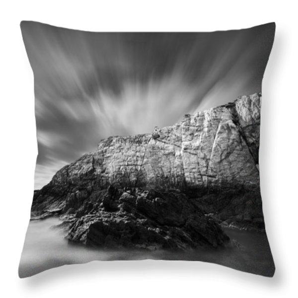Bwa Gwyn Throw Pillow by Dave Bowman